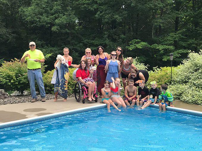 Cousins Pool Party