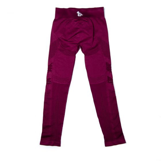Wheel with me - legging maroon
